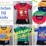 Pusat Grosir Baju Murah Solo Klewer 2018 Supplier Setelan DJ Kids Anak Laki Laki Termurah di Solo Rp.16.500