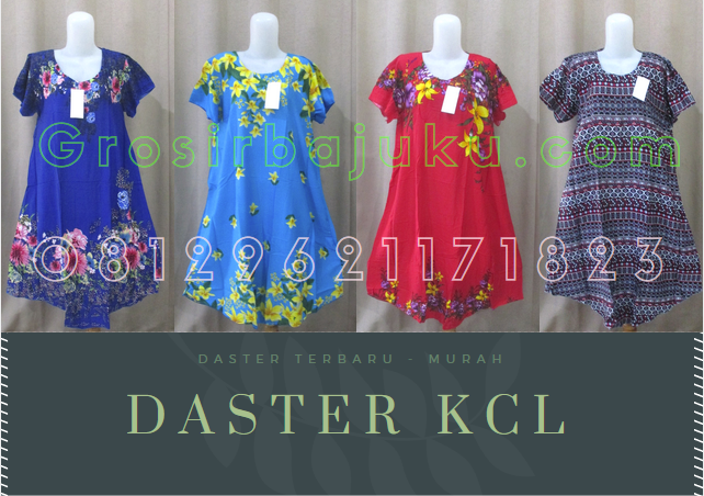 Pusat Grosir Baju Murah Solo Klewer 2021 Grosir Daster KCL Dewasa Terbaru Murah di Solo 27Ribu