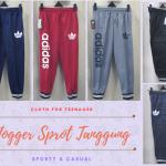 Pusat Grosir Baju Murah Solo Klewer 2018 Konveksi Celana Jogger Sport Anak Tanggung Murah di Solo 26Ribu