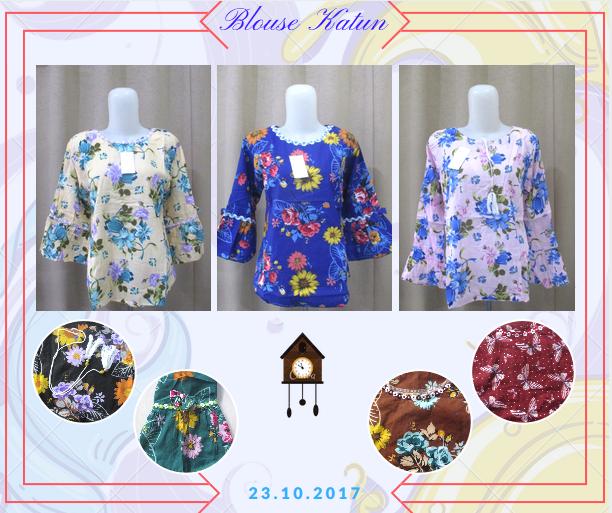 Pusat Grosir Baju Murah Solo Klewer 2019 Supllier Blouse Katun Wanita Dewasa Murah Terbaru 28Ribu