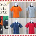 Pusat Grosir Baju Murah Solo Klewer 2018 Supplier Kaos Kerah Polo Anak Murah di Solo 14Ribu