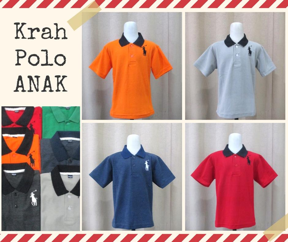 Pusat Grosir Baju Murah Solo Klewer 2021 Supplier Kaos Kerah Polo Anak Murah di Solo 14Ribu