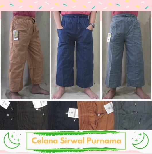 Pusat Grosir Baju Murah Solo Klewer 2019 Distributor Celana Sirwal Purnama Pria Dewasa Murah di Solo 45Ribu