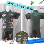 Pusat Grosir Baju Murah Solo Klewer 2018 Produsen Setelan Army Anak Laki Laki Murah di Solo 26Ribu