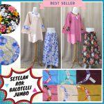 Pusat Grosir Baju Murah Solo Klewer 2018 Produsen Setelan Rok Balotelli Jumbo Wanita Dewasa Murah di Solo 66Ribu