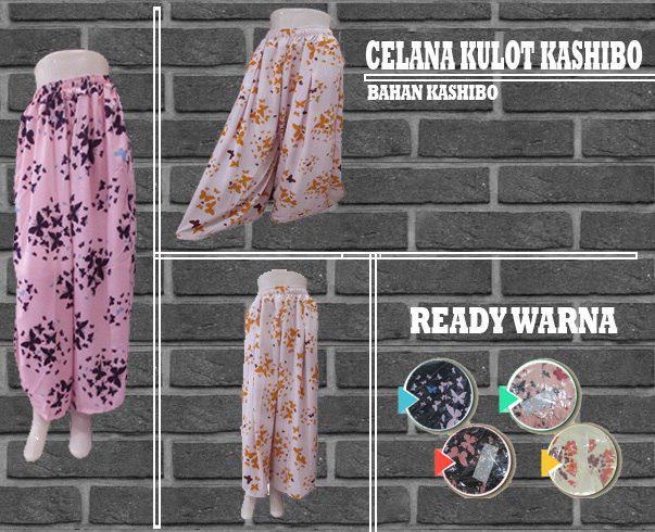 Pusat Grosir Baju Murah Solo Klewer 2019 Produsen Celana Kulot Kashibo Wanita Dewasa Murah di Solo 32Ribu