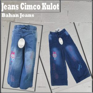 Grosir Jeans Cimco Kulot Anak Murah 34Ribuan