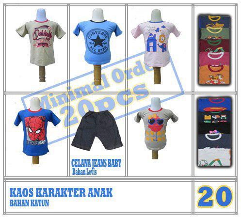 Pusat Grosir Baju Murah Solo Klewer 2019 Distributor Baju Lelangan Pabrik Anak Branded Murah di Solo Rp.12.500