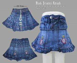 Pusat Grosir Baju Murah Solo Klewer 2021 Grosir Rok Jeans Anak Terbaru Murah 17Ribuan