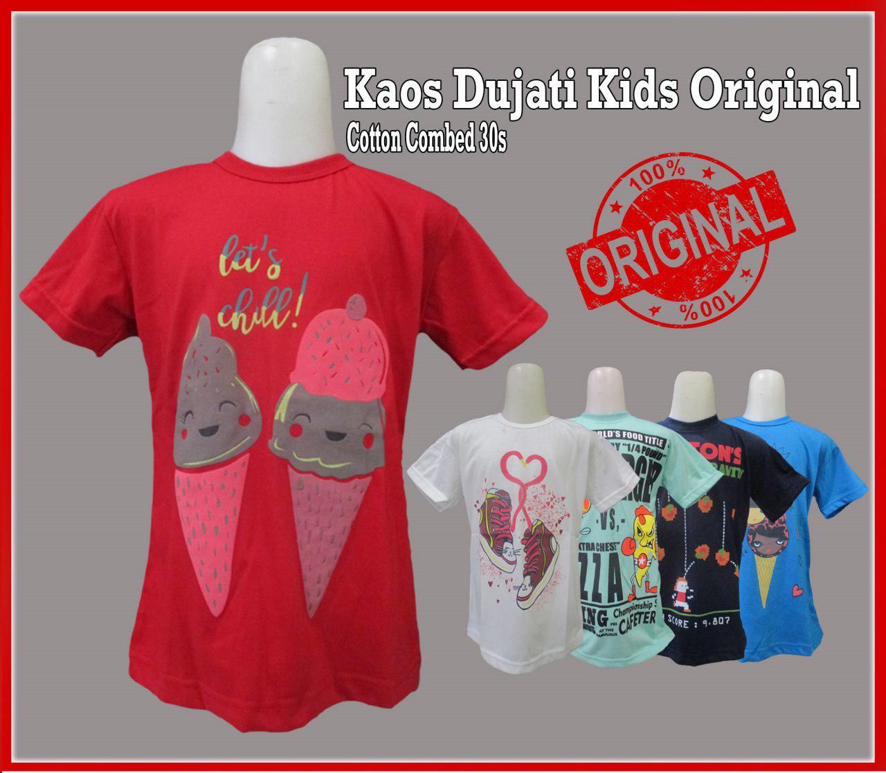Grosir Kaos Dujati Kids Original Murah 20ribuan
