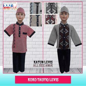 Pusat Grosir Baju Murah Solo Klewer 2019 Koko Taufiq Levis 1-6