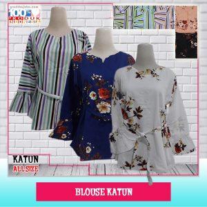 Pusat Grosir Baju Murah Solo Klewer 2019 Blouse Katun