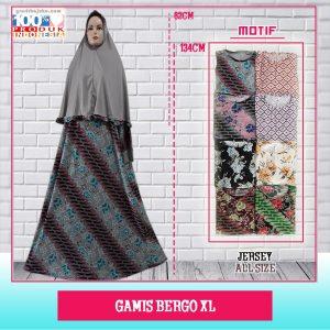 Pusat Grosir Baju Murah Solo Klewer 2019 Gamis Bergo XL