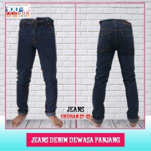 Pusat Grosir Baju Murah Solo Klewer 2021 Jeans Denim Dws PJ