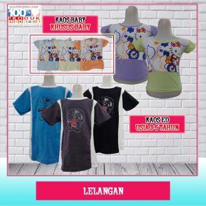 Pusat Grosir Baju Murah Solo Klewer 2021 Kaos Baby & Kaos ED