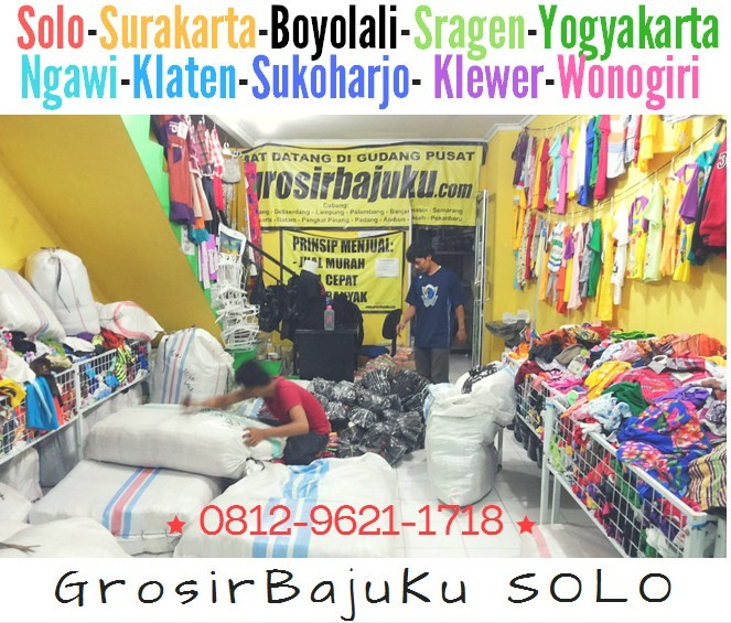 Pusat Grosir Baju Murah Solo Klewer 2021 Grosir Baju Murah Pasar Klewer Solo
