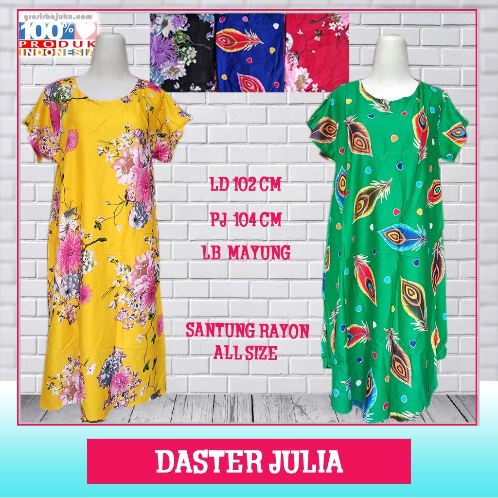 Pusat Grosir Baju Murah Solo Klewer 2019 Grosir Daster Julia Murah di Solo