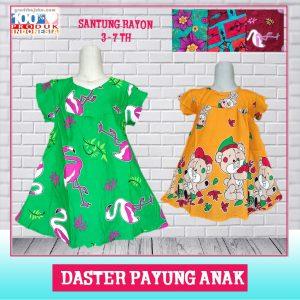 Pusat Grosir Baju Murah Solo Klewer 2019 Daster Payung Anak