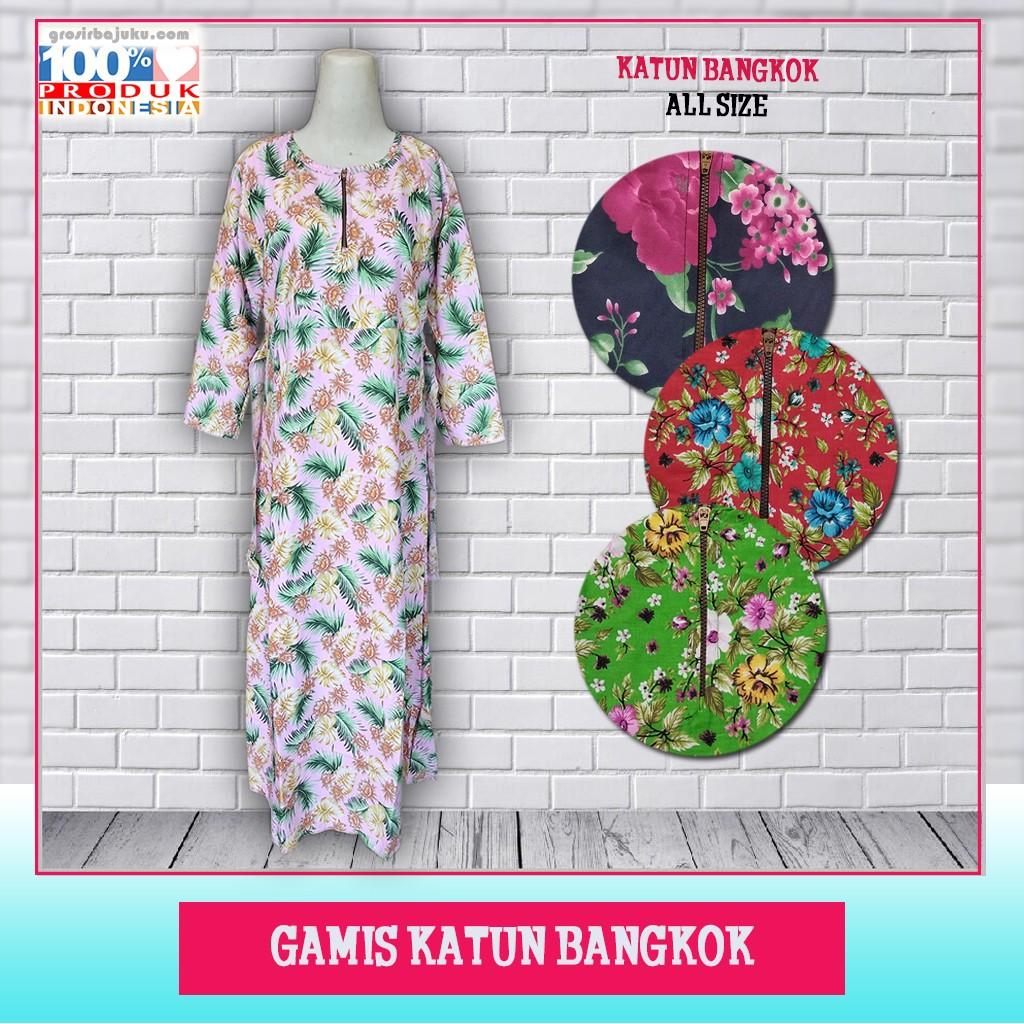 Pusat Grosir Baju Murah Solo Klewer 2019 Distributor Gamis Katun Bangkok Murah di Solo