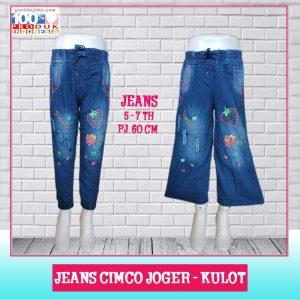 Pusat Grosir Baju Murah Solo Klewer 2021 Jeans Cimco Joger - Kulot