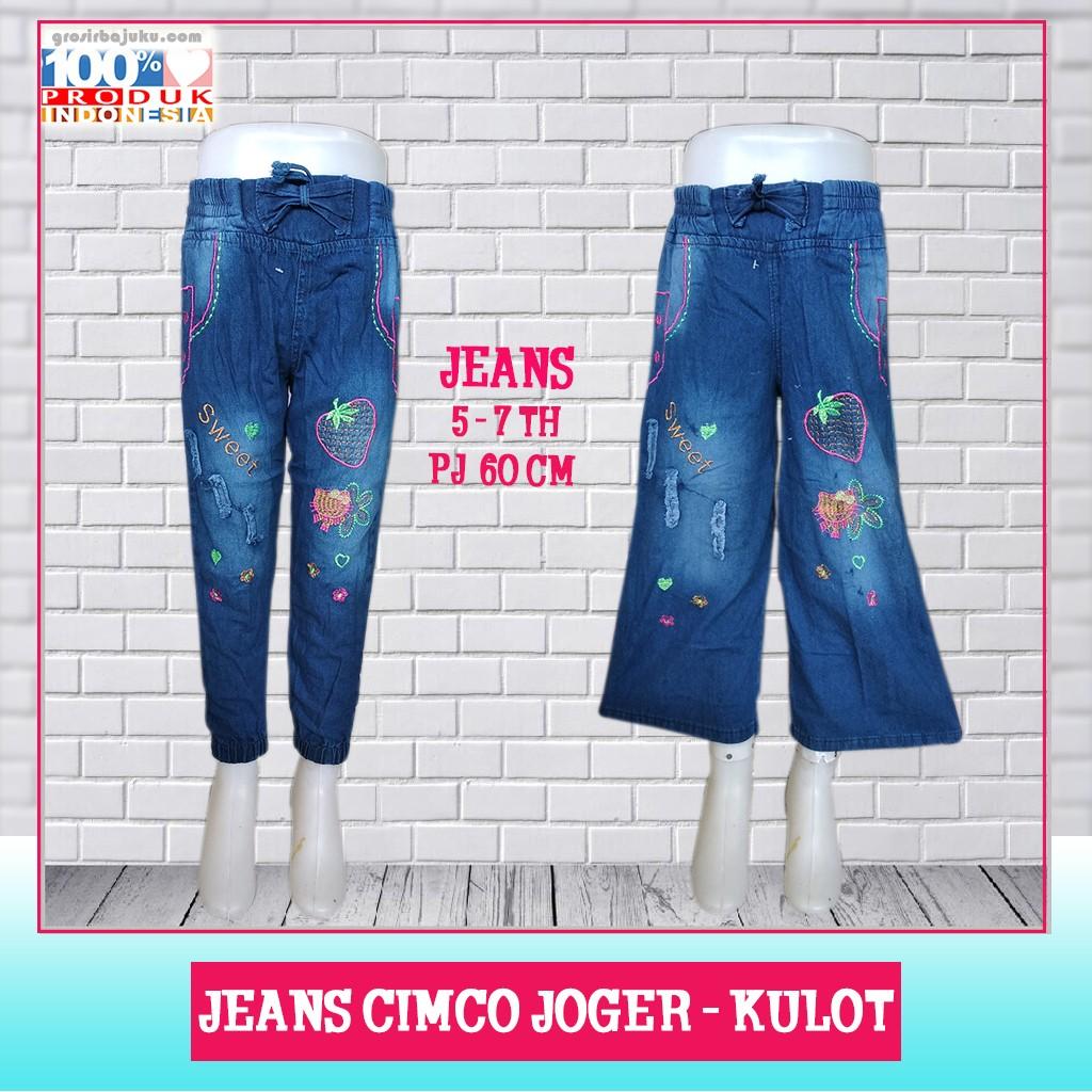 Pusat Grosir Baju Murah Solo Klewer 2021 Supplier Jeans Cimco Joger - Kulot Murah di Solo