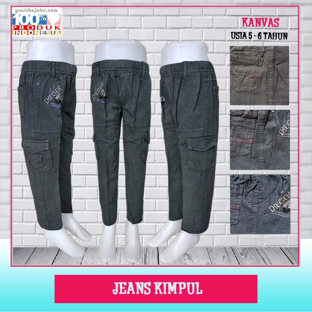 Pusat Grosir Baju Murah Solo Klewer 2021 Konveksi Jeans Kimpul Murah di Solo