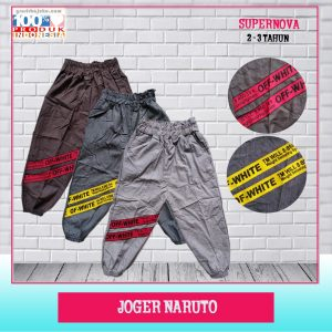 Pusat Grosir Baju Murah Solo Klewer 2019 Joger Naruto