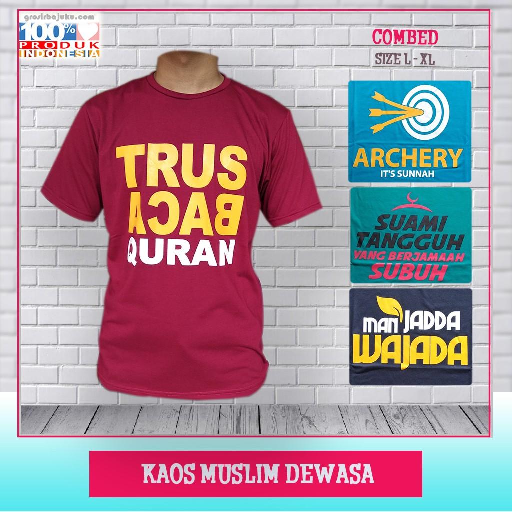 Pusat Grosir Baju Murah Solo Klewer 2019 Produsen Kaos Muslim Dewasa Murah di Solo