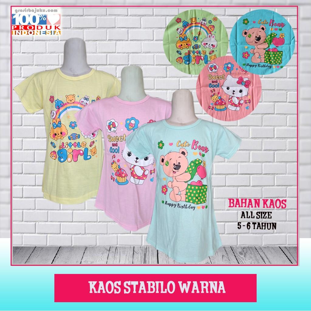 Pusat Grosir Baju Murah Solo Klewer 2019 Distributor Kaos Stabilo Warna Murah di Solo