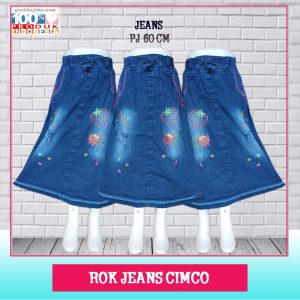 Pusat Grosir Baju Murah Solo Klewer 2021 Rok Jeans Cimco