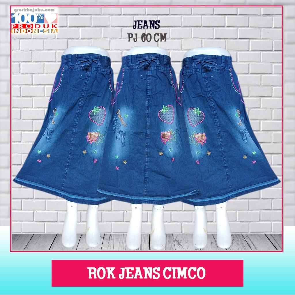 Pusat Grosir Baju Murah Solo Klewer 2021 Produsen Rok Jeans Cimco Murah di Solo