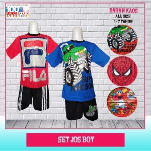 Pusat Grosir Baju Murah Solo Klewer 2021 Set Jos Boy