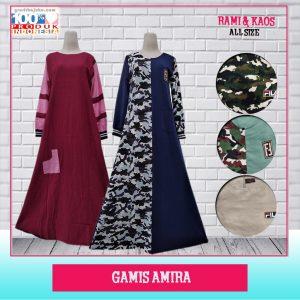 Pusat Grosir Baju Murah Solo Klewer 2019 Gamis Amira