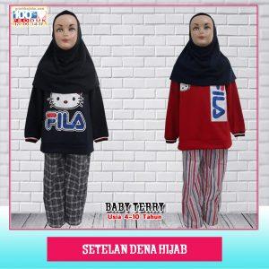 Pusat Grosir Baju Murah Solo Klewer 2021 Set Dena Hijab