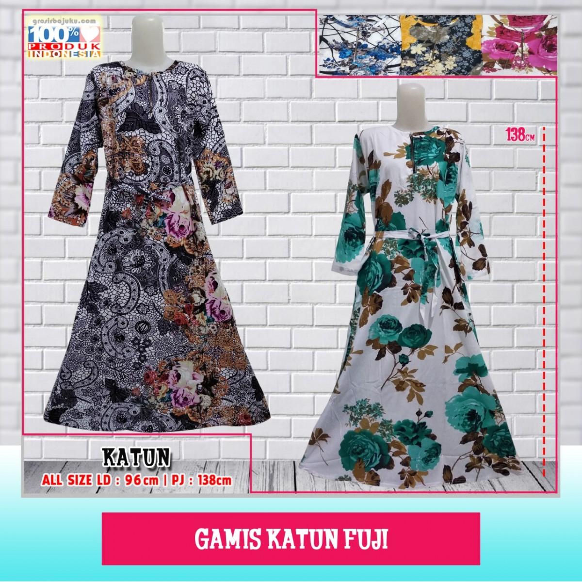 Pusat Grosir Baju Murah Solo Klewer 2019 Supplier Gamis Katun Fuji Murah
