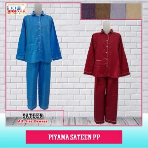 Pusat Grosir Baju Murah Solo Klewer 2019 Piyama Sateen PP