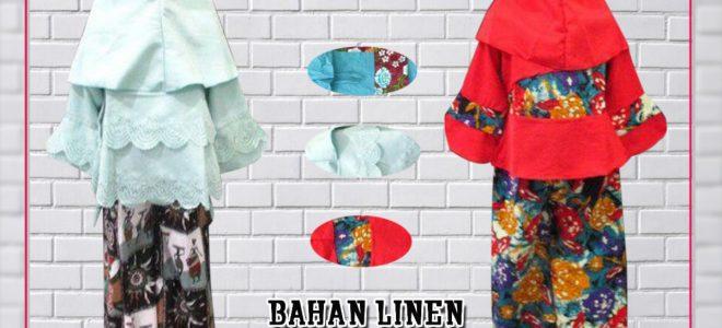 Pusat Grosir Baju Murah Solo Klewer 2019 Distributor Gamis Linen Anak Murah