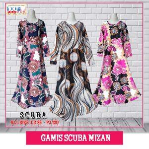 Pusat Grosir Baju Murah Solo Klewer 2019 Gamis Scuba Mizan