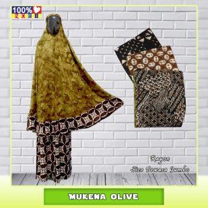 Pusat Grosir Baju Murah Solo Klewer 2021 Mukena Olive