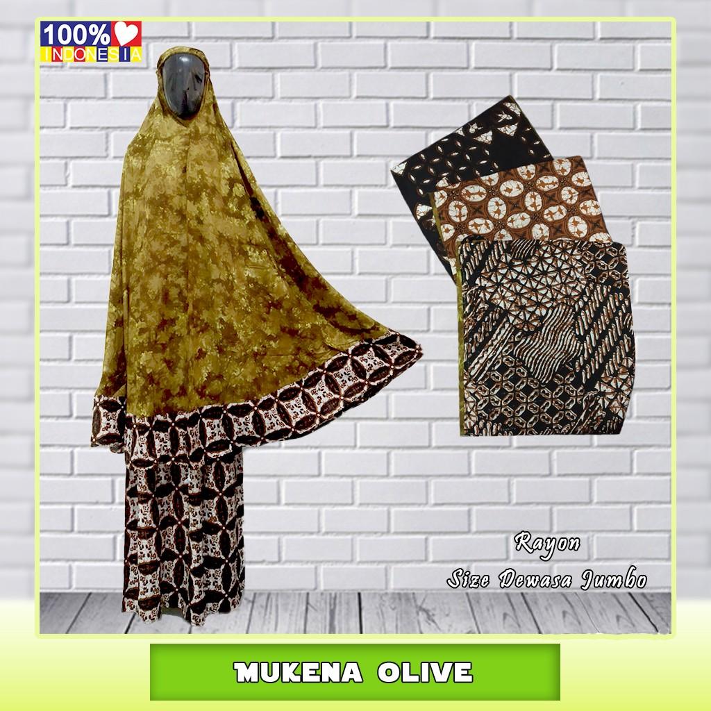 Pusat Grosir Baju Murah Solo Klewer 2019 Distributor Mukena Olive Murah di Solo