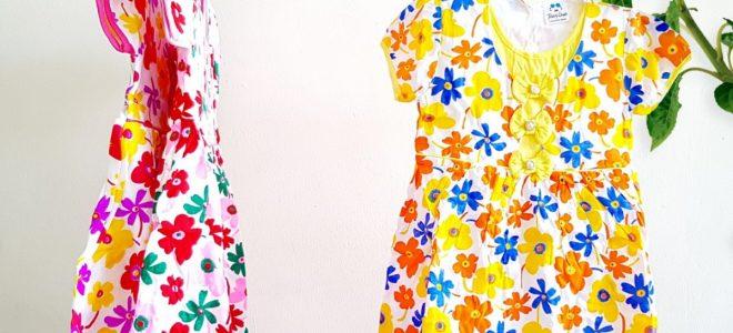 Pusat Grosir Baju Murah Solo Klewer 2021 Bisnis Dress Bunga Anak Murah di Solo