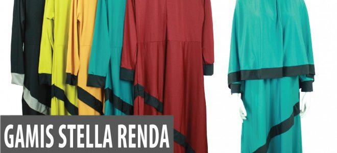 Pusat Grosir Baju Murah Solo Klewer 2019 Supplier Gamis Stella Renda Murah di Solo