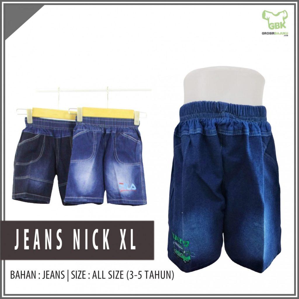 Pusat Grosir Baju Murah Solo Klewer 2021 Bisnis Jeans Nick XL Murah di Solo