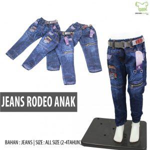 Pusat Grosir Baju Murah Solo Klewer 2021 Jeans Rodeo Anak