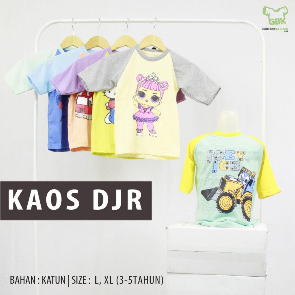 Pusat Grosir Baju Murah Solo Klewer 2021 Bisnis Kaos Distro Anak DJR Murah di Solo