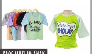 Pusat Grosir Baju Murah Solo Klewer 2021 Distributor Kaos Muslim Anak Murah di Solo