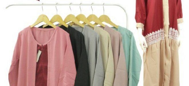 Pusat Grosir Baju Murah Solo Klewer 2021 Distributor Gamis Moscrepe Renda Murah di Solo
