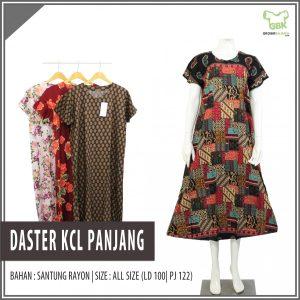 Pusat Grosir Baju Murah Solo Klewer 2021 Daster KCL Panjang