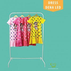 Pusat Grosir Baju Murah Solo Klewer 2021 Dress Anak Bisa Nyala