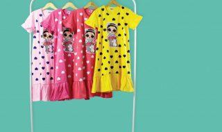 Pusat Grosir Baju Murah Solo Klewer 2021 Agen Dress Anak Bisa Nyala Murah di Solo